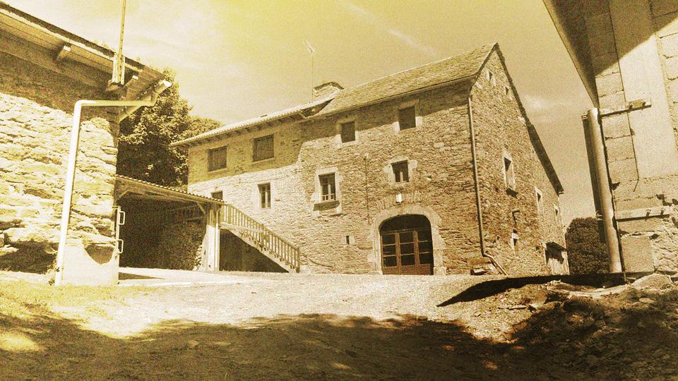 Avant d'être un gîte, ce bâtiment était une maison de ferme