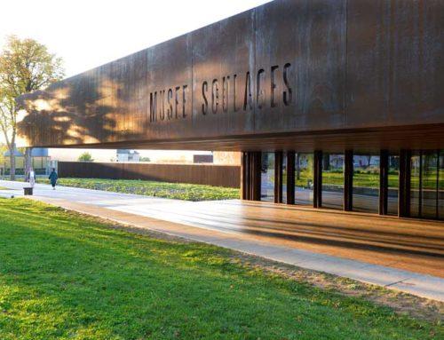 Musée Soulages : acier, ombres et lumières